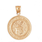 14k gold usa dept of the air force medallion