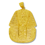 14k gold king tut pendant