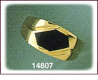 Unforgettable 14K Gold Onyx Ring