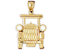14k gold car charms