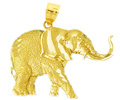 14k gold elephant charms