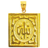 14k gold islamic charms
