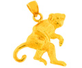 14k gold monkey charms