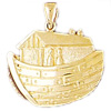 14k gold noah ark charms