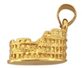 14k gold travel charm