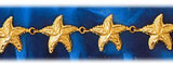 14k gold starfish sea star bracelet