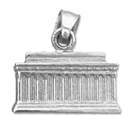 925 sterling silver 3d washington dc lincoln memorial charm