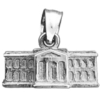 925 sterling silver 3d washington dc white house charm