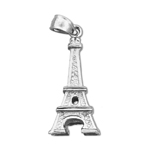 925 sterling silver 3d eiffel tower charm
