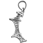 925 sterling silver 3d mackinac bridge charm