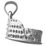 925 sterling silver 3d roman colosseum charm
