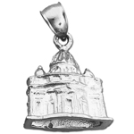 925 sterling silver 3d vatican rome charm