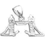 925 sterling silver 3d london bridge charm