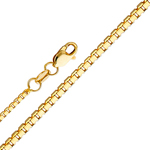 14k gold 1mm box chain