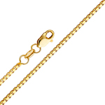 14k gold 0.6mm box chain