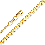 14k gold 1.2mm box chain