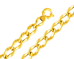 14k gold fancy hollow link womens bracelet